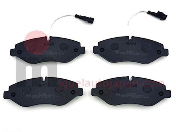 Pastillas de freno delanteras para Nissan Cabstar YD25