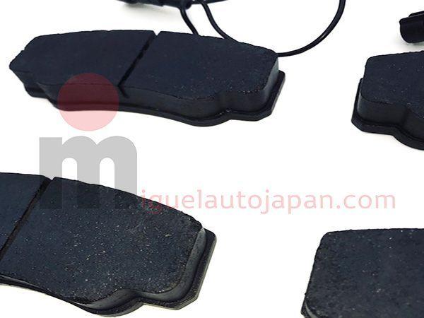 Pastillas de freno traseras para Nissan Cabstar YD25