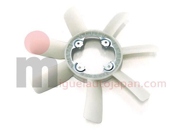 Aspas de ventilador para Nissan Cabstar YD25 2006-2012